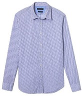Banana Republic Camden Standard-Fit Custom-Wash Floral Stripe Shirt