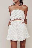For Love & Lemons Alessandra Mini Skirt
