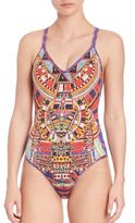 Camilla One-Piece Rainbow Warrior Reversible Swimsuit
