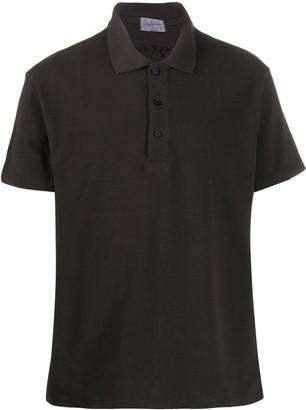 Yohji Yamamoto Plain Short-Sleeved Polo Shirt