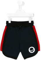 Hydrogen Kids - logo plaque casual shorts - kids - Cotton/Polyester - 8 yrs