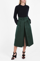 Martin Grant High-Waist Belted Skirt