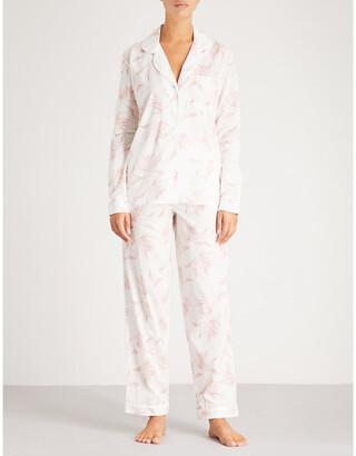 Desmond & Dempsey Deia cotton-voile pyjama set