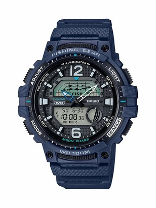 Casio Men's 10 Year Battery Quartz Watch with Resin Strap