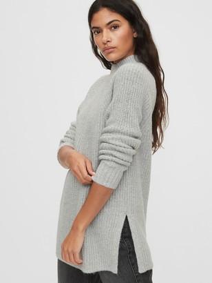 Gap Mockneck Tunic Sweater