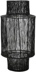 House Doctor - 22 x 45cm Black Steel Lantern - steel | black - Black/Black