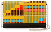Christian Louboutin Paloma Embroidered Clutch Bag