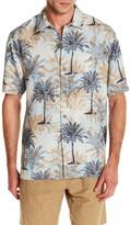 Tommy Bahama Sol Palmeras Original Fit Silk Shirt