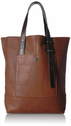 Pendleton Women's Leather Open Tote