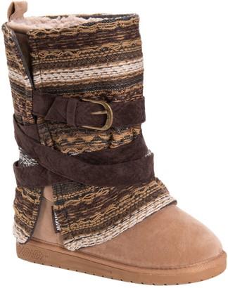 Muk Luks Women's Removable Wrap Mid-Calf Boots- Rebecca