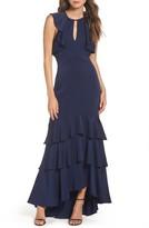Shoshanna Women's Daviot Ruffle Tiered Gown