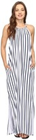 Seafolly Vertical Stripe Jersey Maxi Cover-Up