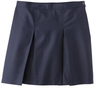 Juniors' School Uniform Pleated Skirt