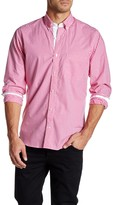 Tailorbyrd Gingham Long Sleeve Classic Fit Shirt