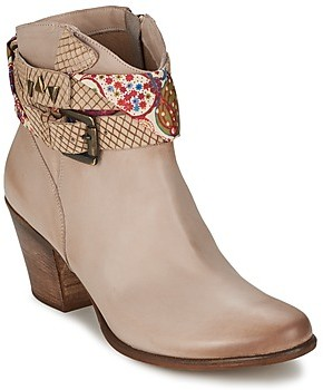 Manas Design women's Low Ankle Boots in Brown