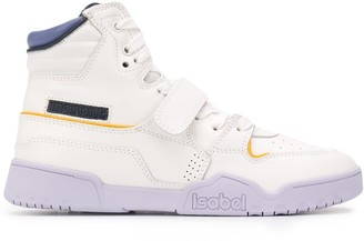 Isabel Marant Panelled High-Top Retro Trainers