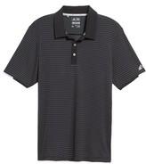 adidas Men's Climachill Stripe Golf Polo