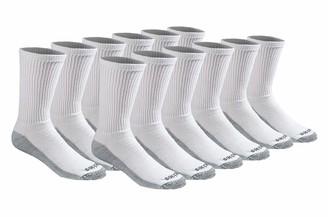 Dickies Men's Big and Tall Multi-Pack Dri-Tech Moisture Control Crew Socks