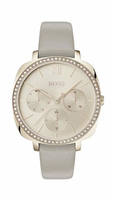 HUGO BOSS Womens Multi dial Quartz Watch with Leather Strap 1502487