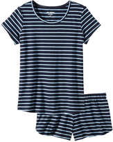 Joe Fresh Women's Stripe Sleep Set, Print 1 (Size S)