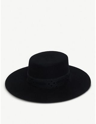 LACK OF COLOR Sierra wool boater hat