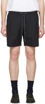 Toga Virilis Black Taffeta Shorts