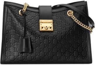 Gucci Padlock Signature medium shoulder bag