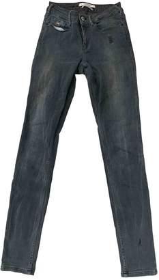 Scotch & Soda Grey Cotton - elasthane Jeans for Women