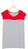 Junior Gaultier Girls' Striped Short Sleeve Dress