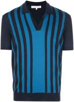 Orlebar Brown striped polo sweater
