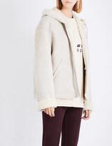 Yeezy Season 5 hooded shearling jacket