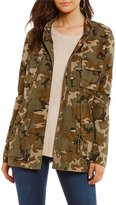 GB Camouflage Printed Anorak Jacket