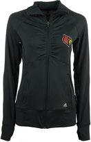 adidas Women's Louisville Cardinals Climalite Ultimate Full-Zip Jacket