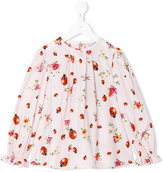 Dolce & Gabbana ladybug print blouse