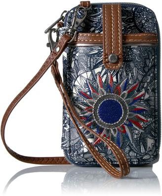 Sakroots Women's Smartphone Wristlet Handbag