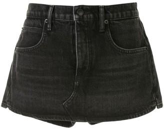Alexander Wang Fitted Denim Shorts