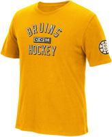 Reebok NHL Boston Bruins Brushed Tee