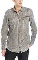 Buffalo David Bitton Men's Sipund Long Sleeve Button Down Shirt