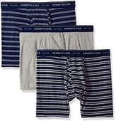 Kenneth Cole New York Men's Boxer Brief Set Stripes
