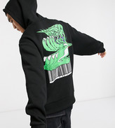 Collusion COLLUSION hoodie with warped cartoon print