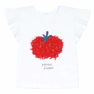 Catimini Baby Girls' Cq10023 Tee Shirt T