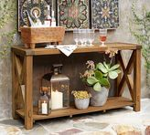 Pottery Barn Benchwright Outdoor Console Table