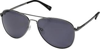 Von Zipper VonZipper Farva Polar (Charcoal Gloss/Wild Vintage Grey Polar) Fashion Sunglasses