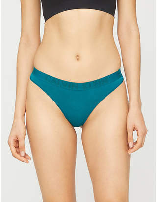 Calvin Klein Ultimate stretch-cotton thong