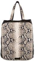 Emporio Armani Printed Leather Tote