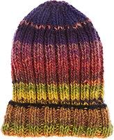 Grevi Men's Ombré Striped Wool-Blend Cap