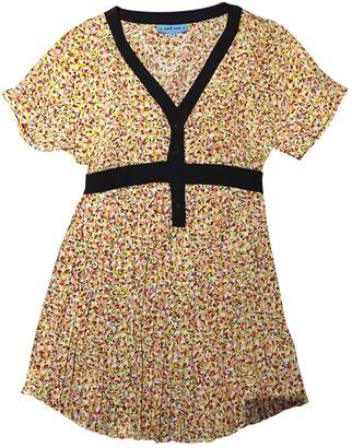 April May Multicolour Silk Dress for Women