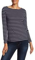 French Connection Tim Tim Striped Long Sleeve Shirt