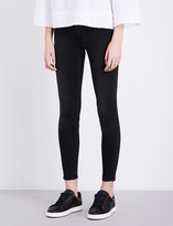 7 For All Mankind The Skinny high-rise cropped jeans