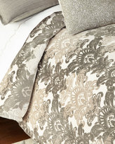 Isabella Collection Queen Ethos Damask Duvet Cover